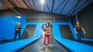 Fly Arena - dodge ball - trampolines