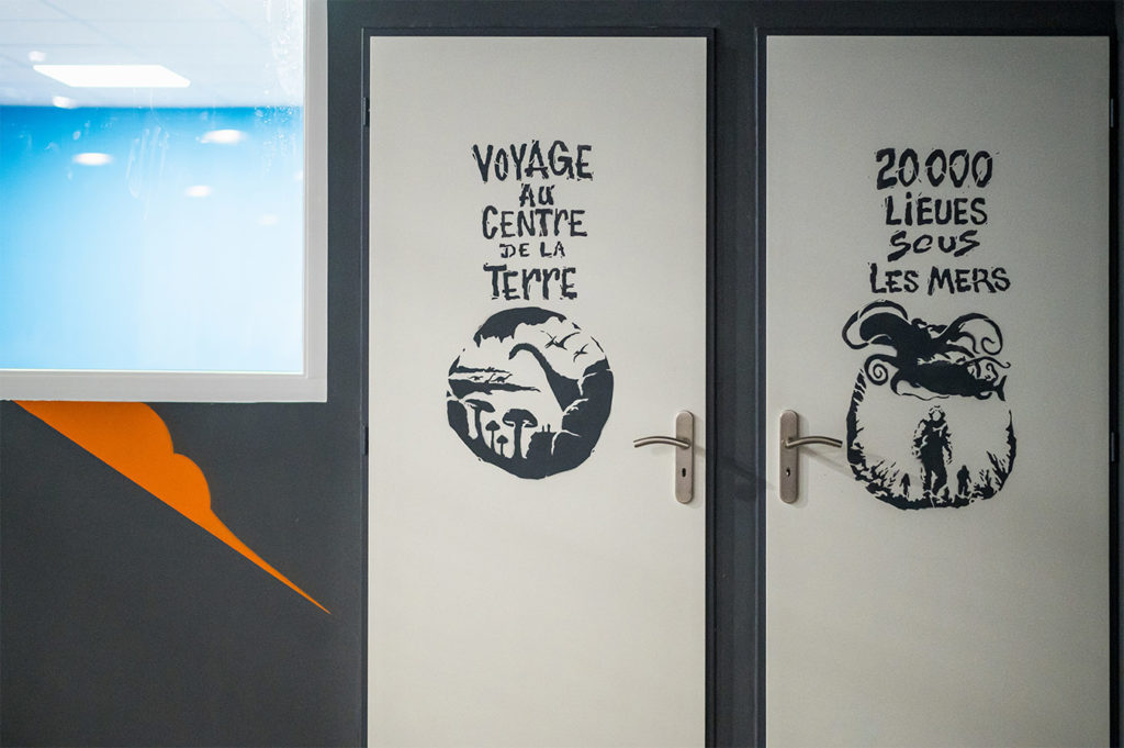 Fly Arena - Graff Jules Verne signé Eggs58