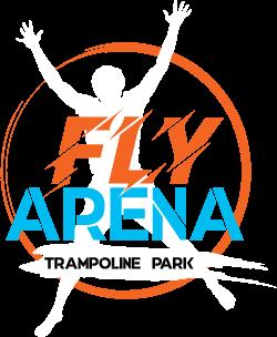 Logo Fly Arena - fond foncé